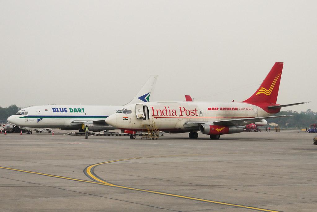 Blue Dart、 India Post 737-200F | 看到737-200,我都快感動得哭出來了