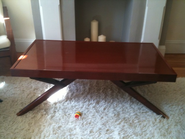 Castro Convertible Table Low Height Used As Coffee Table Flickr Photo Sharing