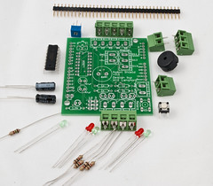 electrical wiring(0.0), personal computer hardware(1.0), circuit component(1.0), microcontroller(1.0), electronics(1.0), diode(1.0),