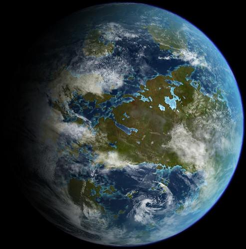 Terraforming Of Mars: Images Of Terraformed Worlds: Venus, Mars, Luna