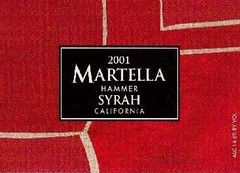 Add a photo for Martella Hammer Syrah California 2001