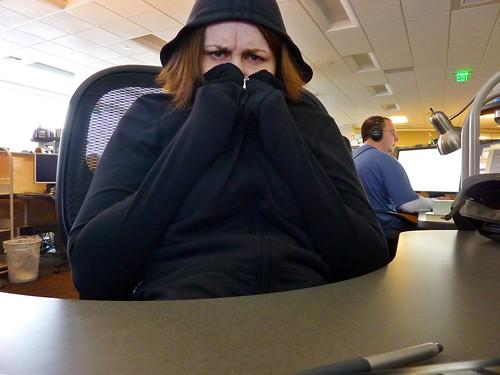 cold ass office