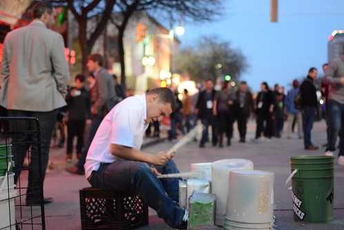 Sixth Street Drummer by Geoff Livingston