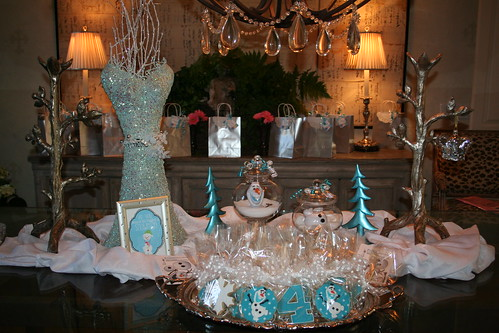 FROZEN Party, Victoria's Traveling Tea Party
