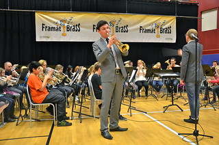 Framåt Brass-orkestern med Paul Duffy