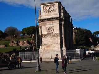 Image of Colosseum near Roma Capitale. trip20170208 rzym roma muzeumwatykańskie colosseum geo:lon=12491364 geo:lat=41889958