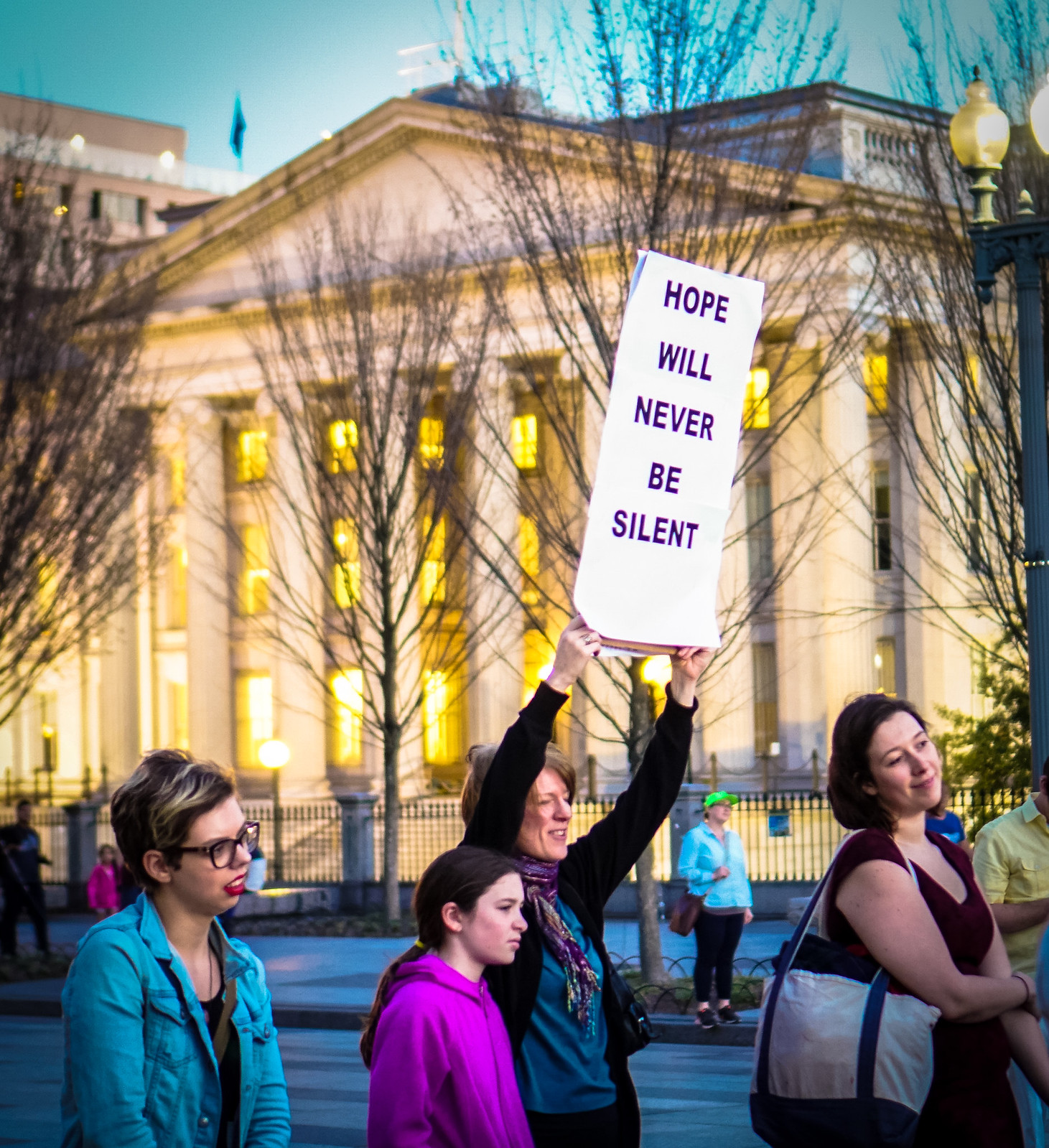 2017.02.24 Dance Protest Celebrating Trans Youth, Washington, DC USA 01165