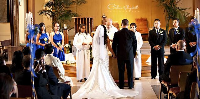 St Maximilian Kolbe Catholic Church Wedding Ceremony Pict