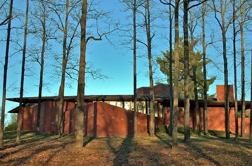 The Frank Lloyd Wright House in Ebsworth Park