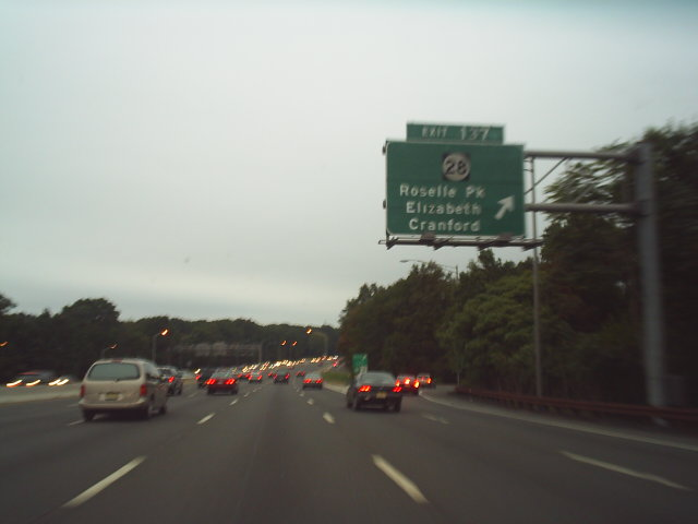 Garden State Parkway New Jersey M3367s 4504 Garden
