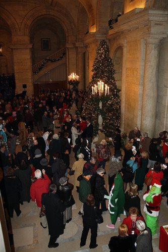 NYPL Holiday Party 2009
