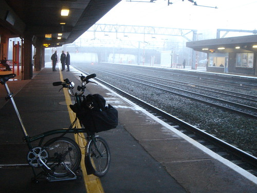 Waiting at Stafford