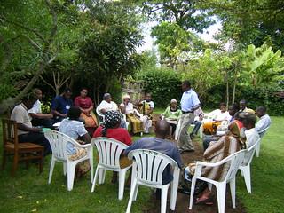 Tanzania field practice, Meru district, group interview