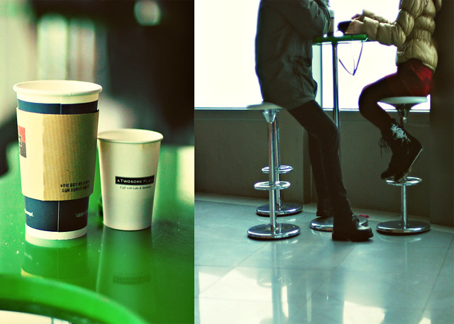 Men should be like coffee: hot, sweet and strong.