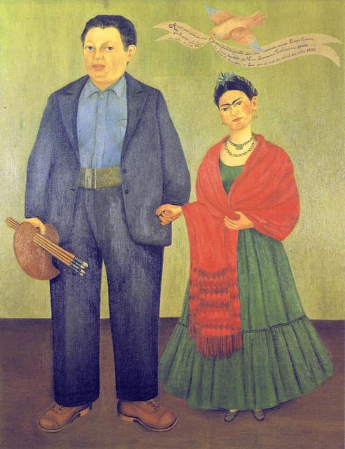 Frida Kahlo & Diego Rivera, 1931
