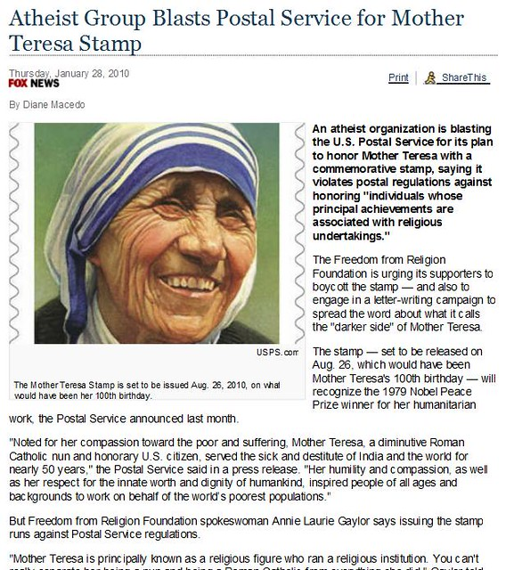 essay mother teresa hero