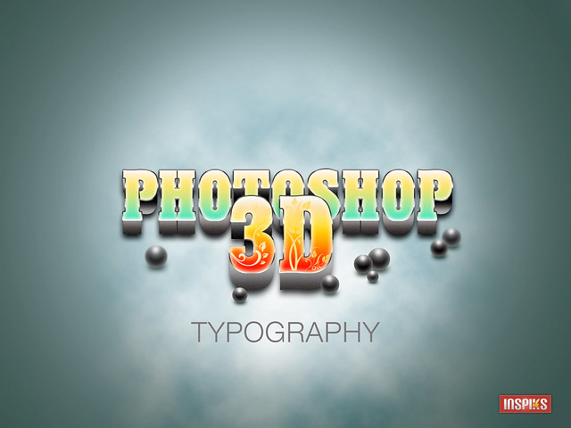how to create a realistic 3d typography in photoshop tutorial flickr photo sharing