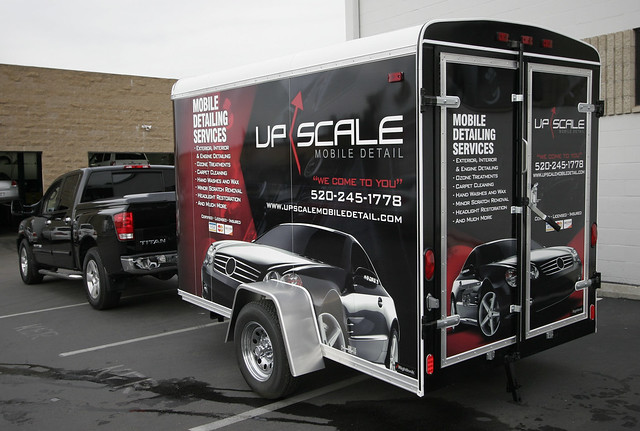 9800 mobile auto detailing trailer hit the road about an h flickr photo sharing