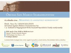 2010. március 12. 13:39 - San Marco Szabadegyetem: Prof. Dr. Urbancsek János