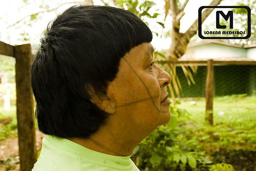 Aldeia do povo indígena Suruí