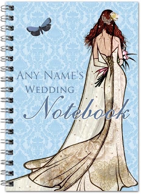 Wedding Dress Notebook
