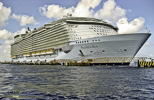 Allure of the Seas - Royal Caribbean by DiGitALGoLD