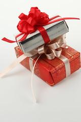 gift, red, christmas,
