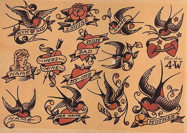現代刺青之父 Sailor Jerry:結合東西方藝術,引領美式 Old School 水手刺青文化9