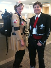 Ghostbuster and one of the three amigos