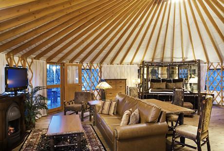 Inside A Yurt In Bluegreen Shenandoah Crossing Flickr