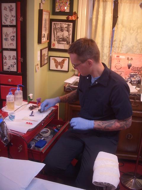 Atlas tattoo studio dan gilsdorf flickr photo sharing for Atlas motors portland oregon