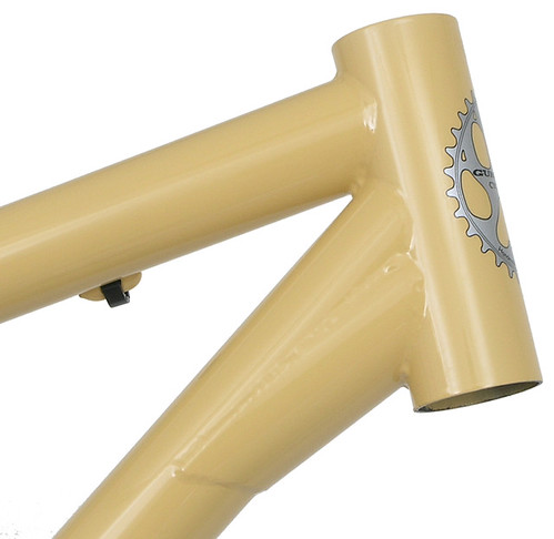 """<p>Ruffian head tube with gusset for strength and fork crown clearance.<br /> <br /> gunnarcycles<br /> gunnarbikes <br /> <a href=""""http://gunnarbikes.com"""" rel=""""nofollow"""">gunnarbikes.com</a></p>"""