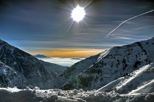 winter light sun mountain snow ski forest nikon uinta ray skiing natural bright quality air nation rocky canyon resort trail national timpanogos sundance worst inversion tamron cascade hdr provo orem d300 utahvalley photomatix 7xp af1750mmf28spxrdiiivc 2010challenge06