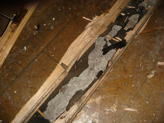 wood floor asbestos felt underlayment flickr photo