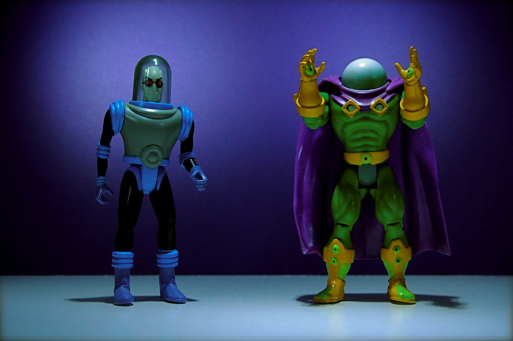 Mr. Freeze vs. Mysterio (43/365)