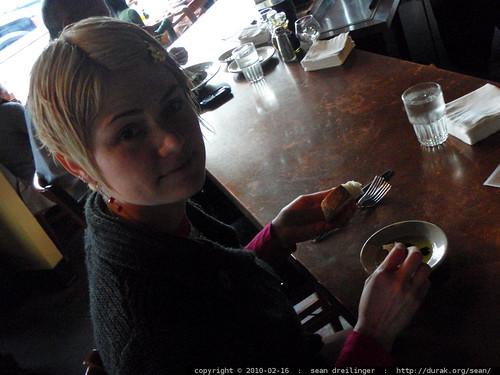 valentine's day lunch at zeppo   P2120003