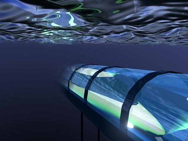 Underwater train