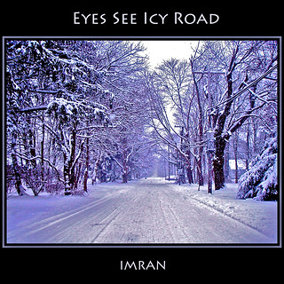 Eyes See Icy Road: Where Full Color Looks Black & White - IMRAN™ — 1700+ Views!
