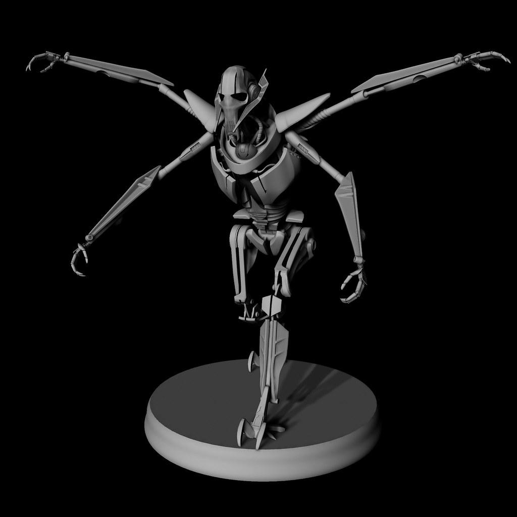 my Grievous 3D model - StarDestroyer.Net BBS