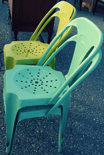 Vintage Metal Chairs by Sweet.Eventide
