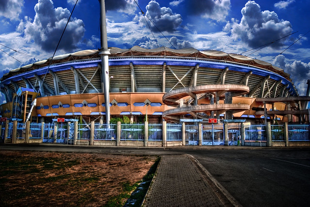 Hdr of the biggest stadium in tunisia rades stadium for Porte 8 stade rades