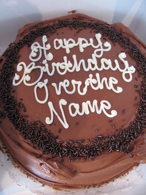 cake decorating mistake