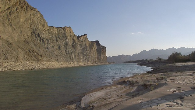 The Hingol River in the Hingol National Park in Las Bela, Balochistan - January 2011