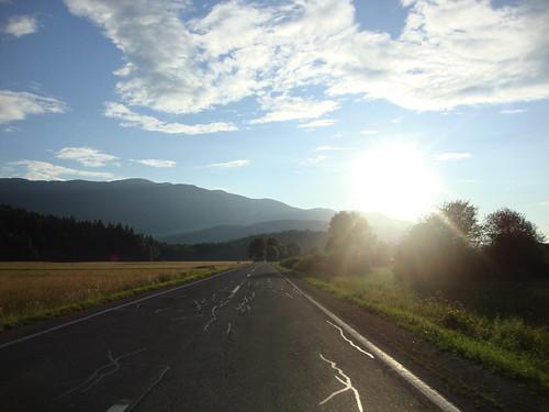 road park sunset mountains beautiful forest nationalpark woods highway hills slovenia valley rog kočevje kočevski kočevskirog hornwald črmošnjice