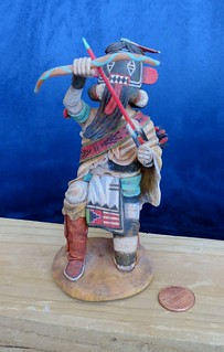 Hopi Left Handed Kachina, Front View