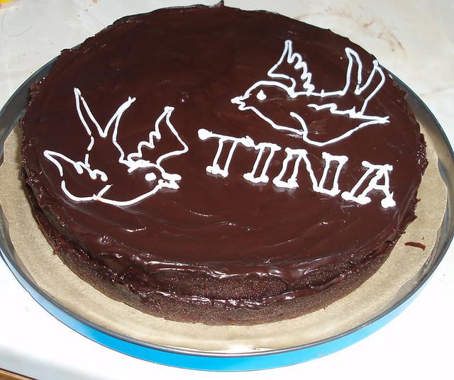 tina\u0027s birthday cake