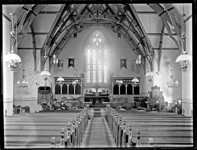 St Pauls Church Interior Stockton Nsw 25 October