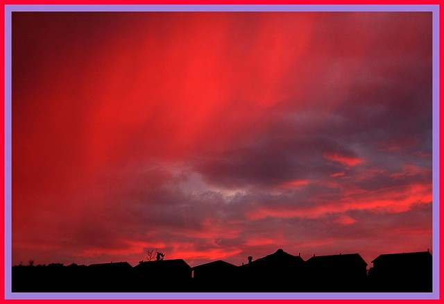 psychedelic sunset | Flickr - Photo Sharing!