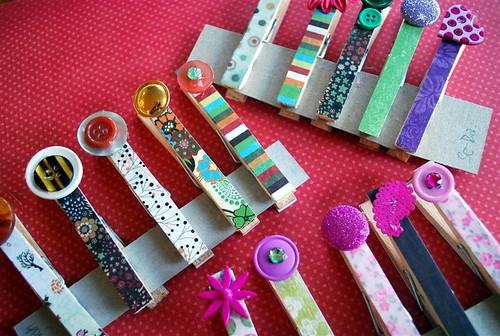 Decorative clothes pins your homebased mom for Decorative pins for crafts