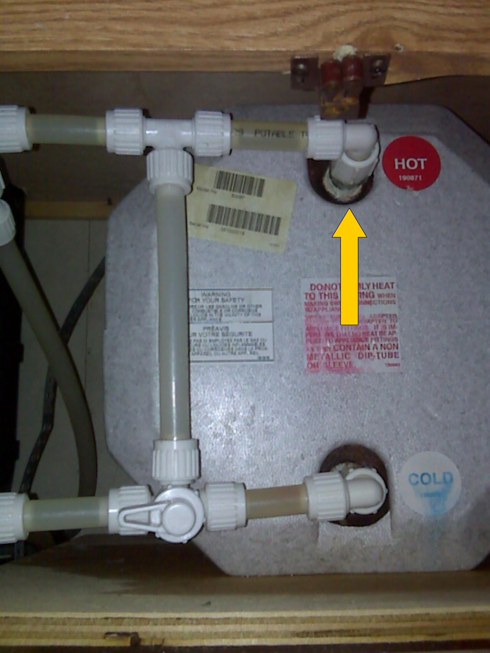 Rv Hot Water Heater Flickr Photo Sharing
